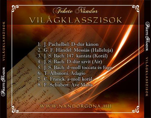Fekete Nándor orgonaművész - Világklasszisok album